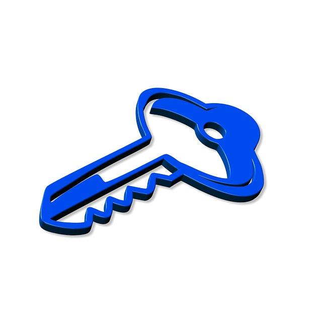 modrý klíč