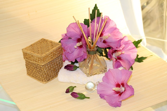 květiny, vonné tyčinky