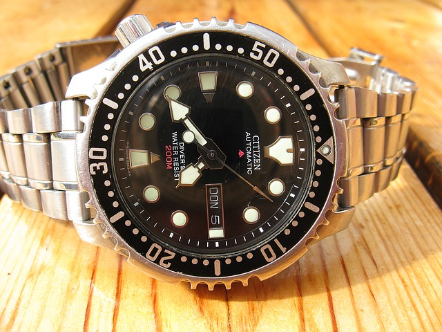 pánské hodinky, stříbrné