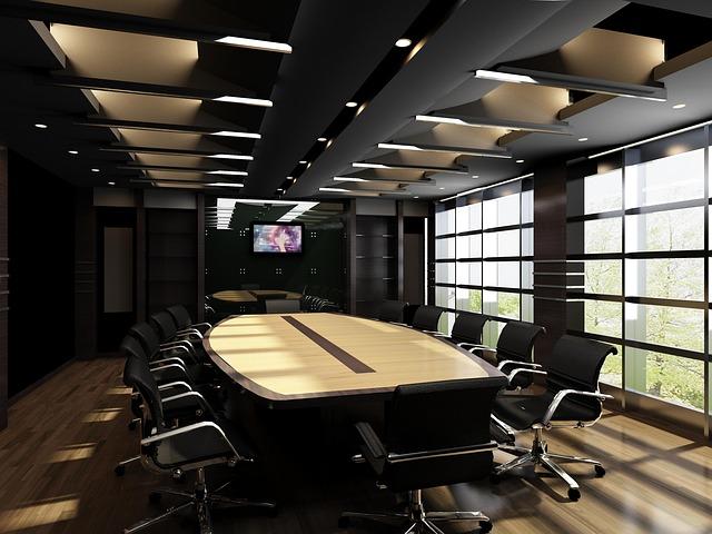 multi-obrazovka v zasedačce