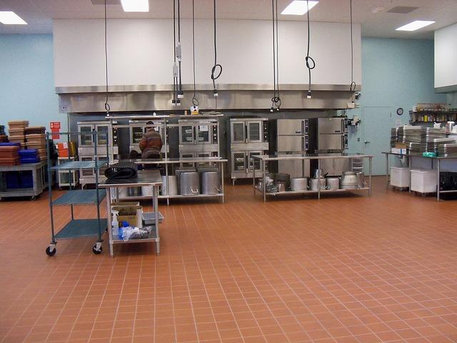 komerční kuchyně
