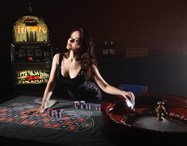 casino a děvče