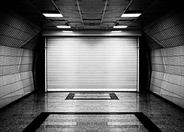 podzemní garáž
