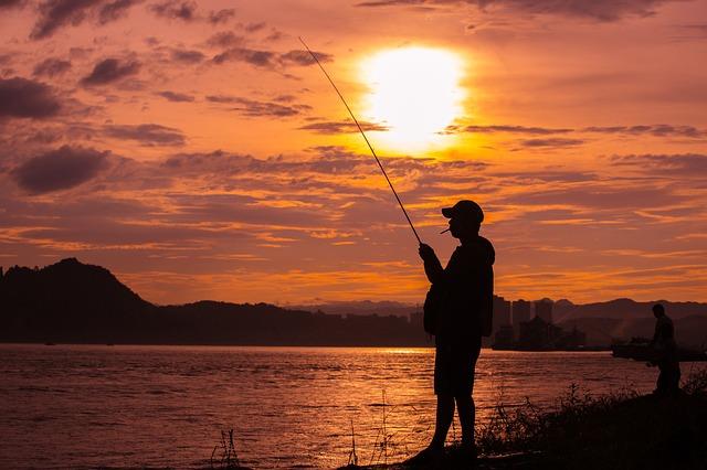 rybaření lidí