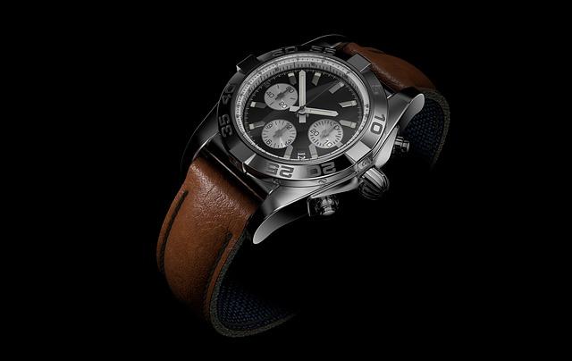 hodinky s koženým páskem