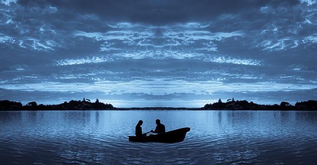 měsíční jezero