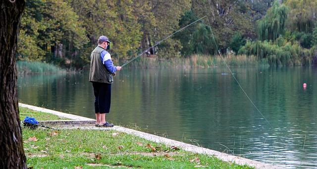 vášnivý rybář