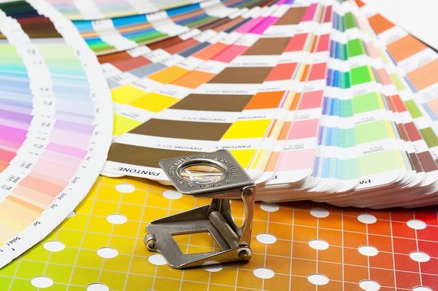 lupa a barevné škály