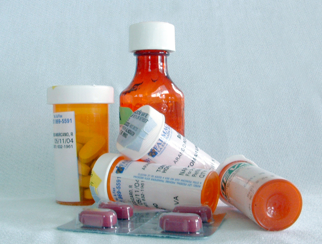 sortiment léků