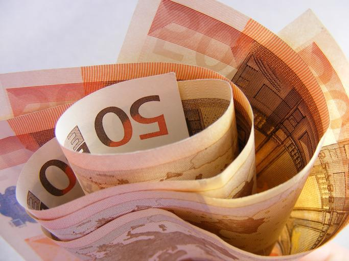 pokroucená eura