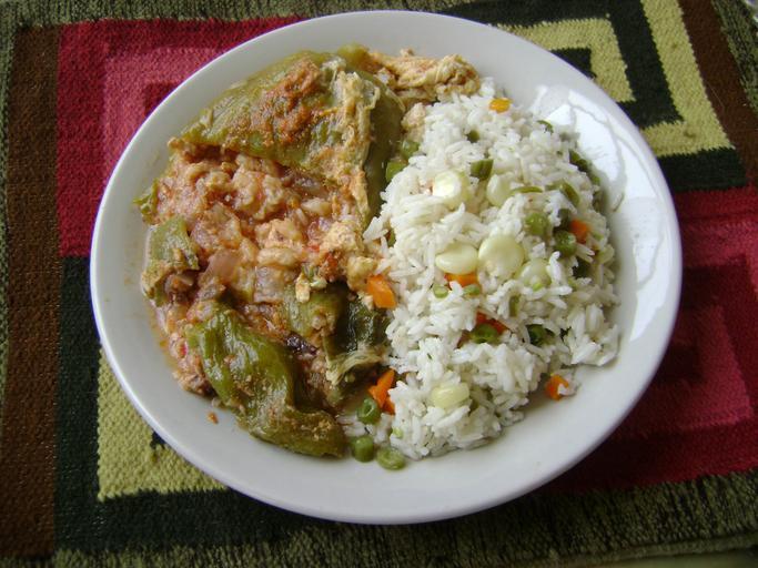 Caigua v jídle